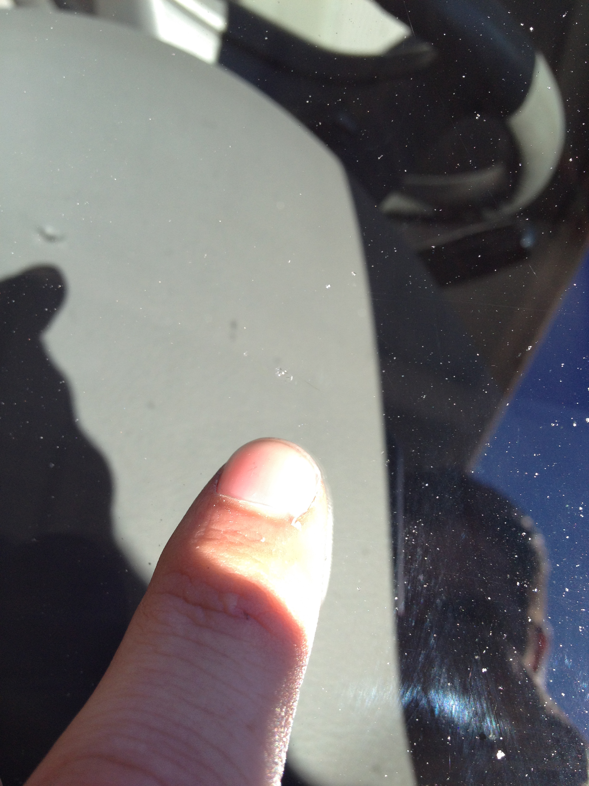 Chip Repair performed by Knight Auto Glass