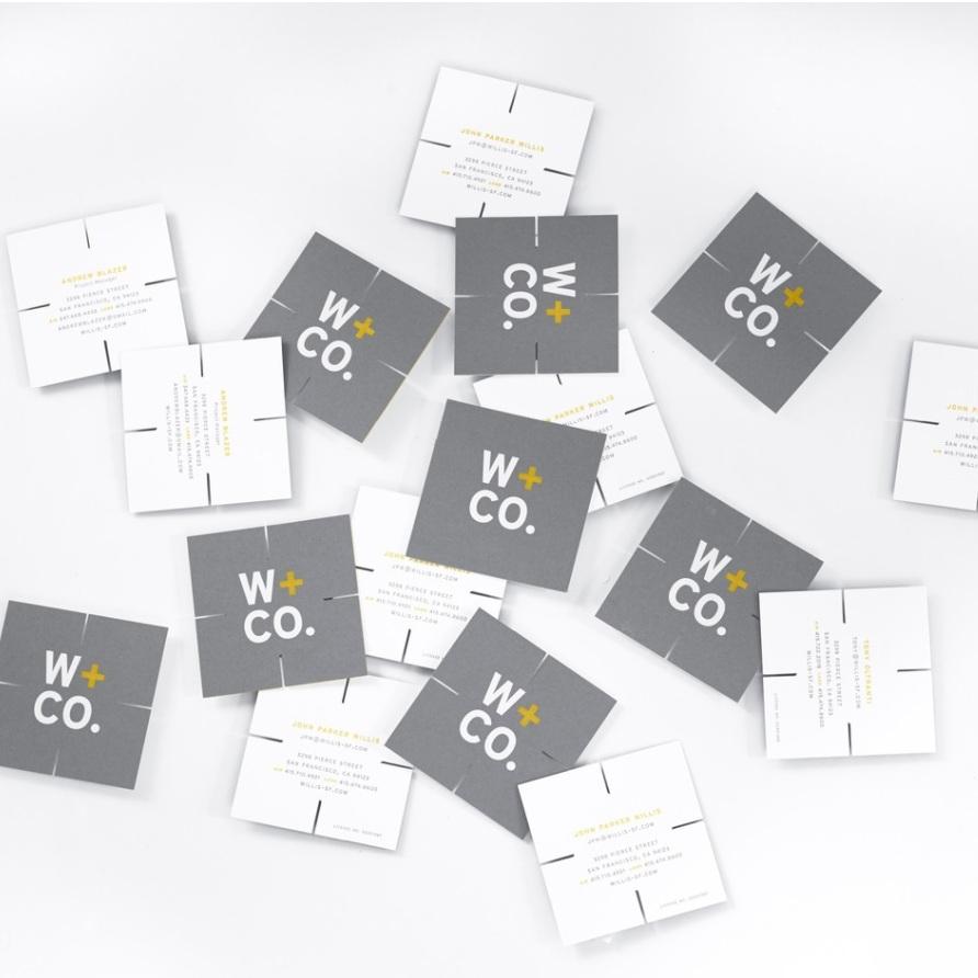 W+CO.   Branding, Print, Web