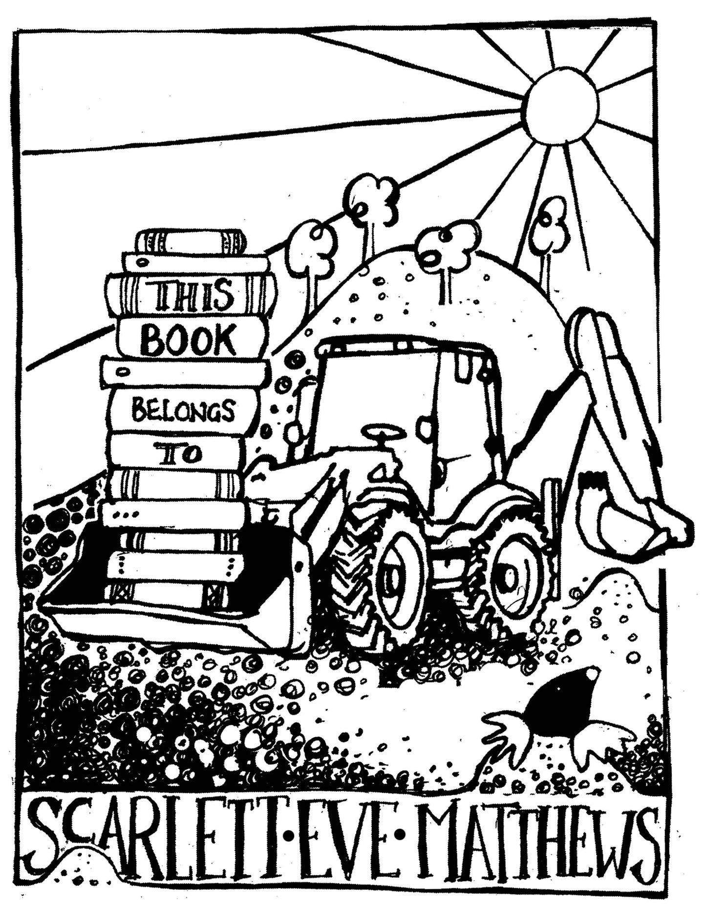 Ex Libris - Digger