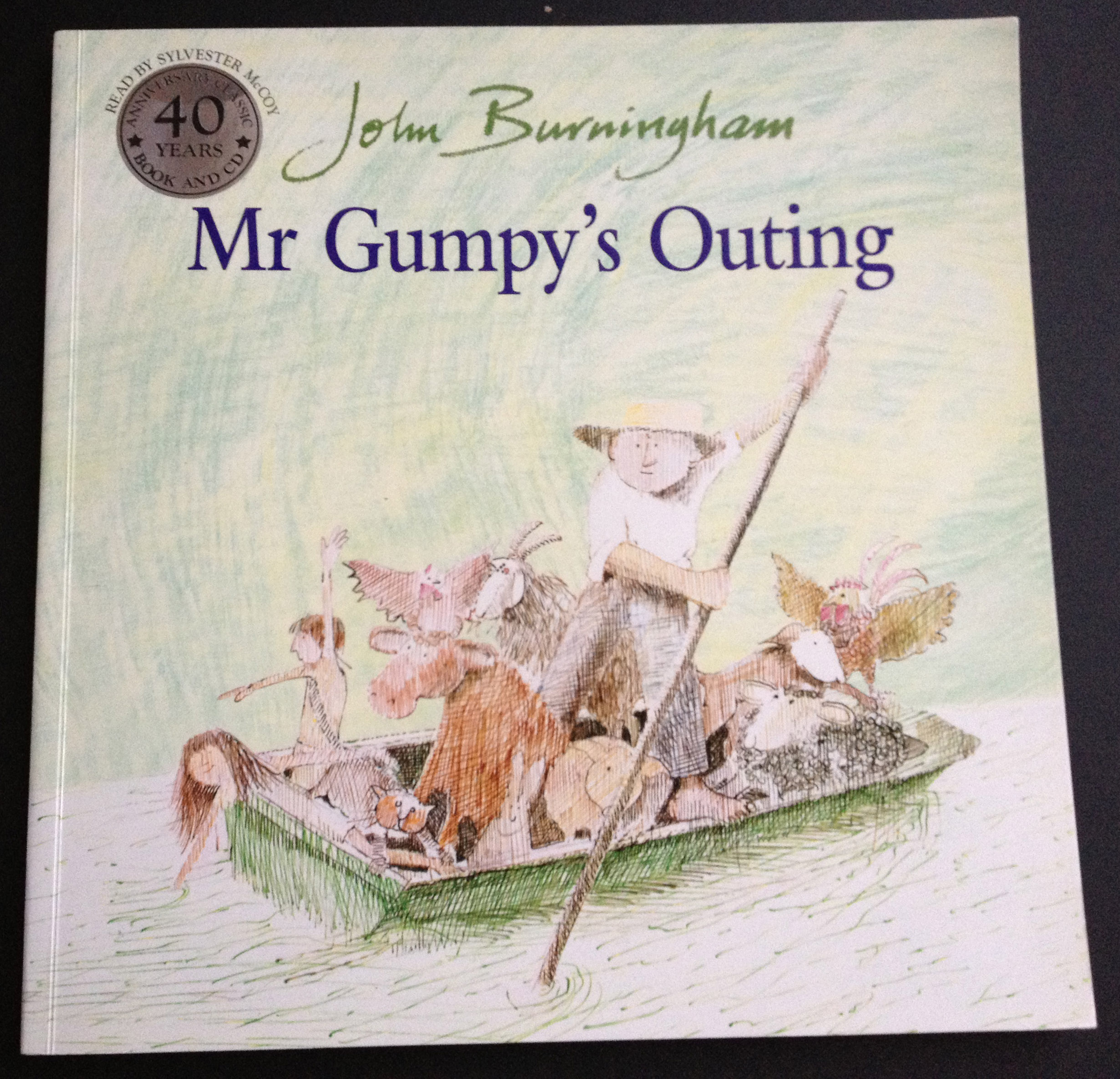 'Mr Gumpy's Outing' by John Burningham