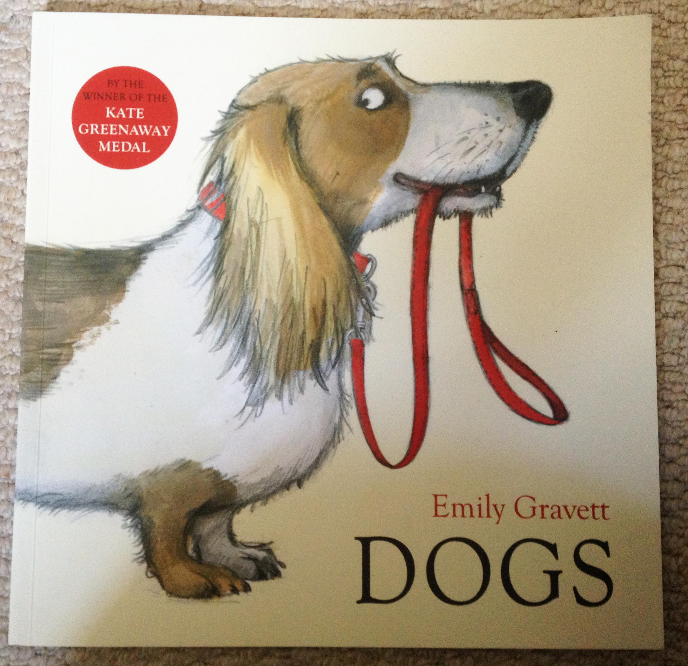 'Dogs' by Emily Gravett