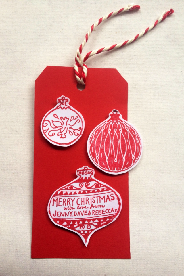 Baubles Stamp Set