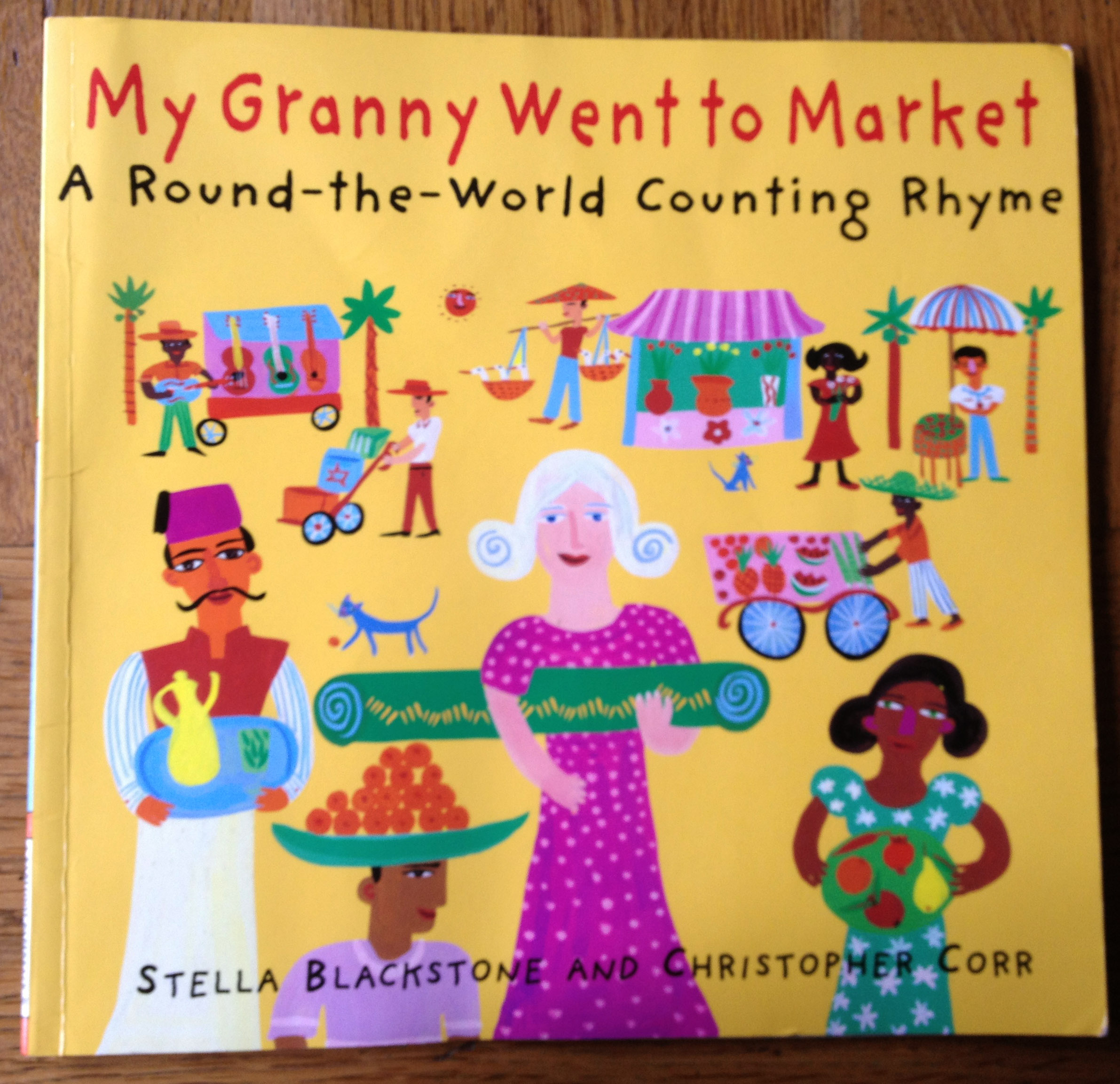'My Granny Went to Market' by Stella Blackstone and Christopher Corr