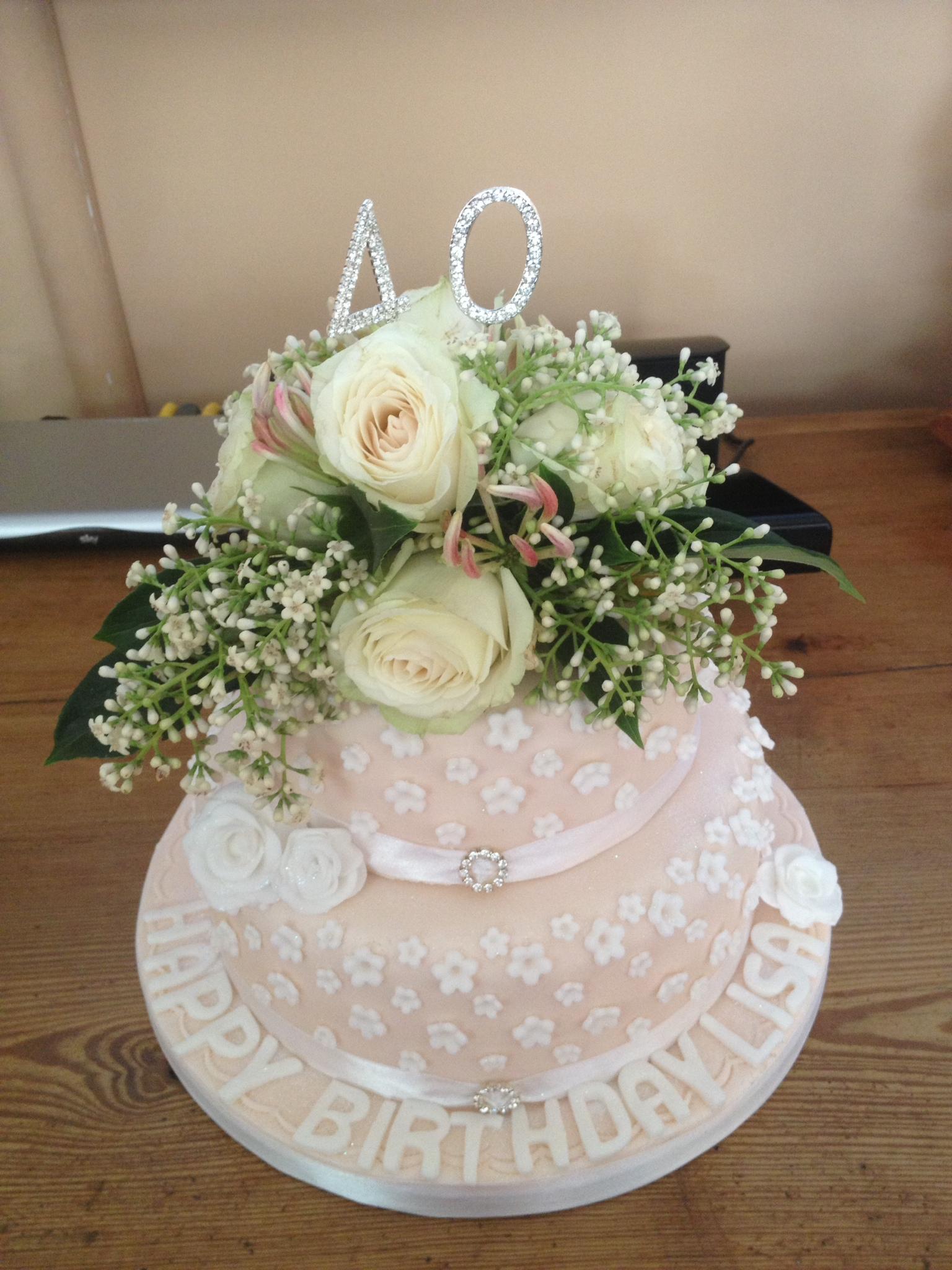 The Bluebell Bakery - birthday cake