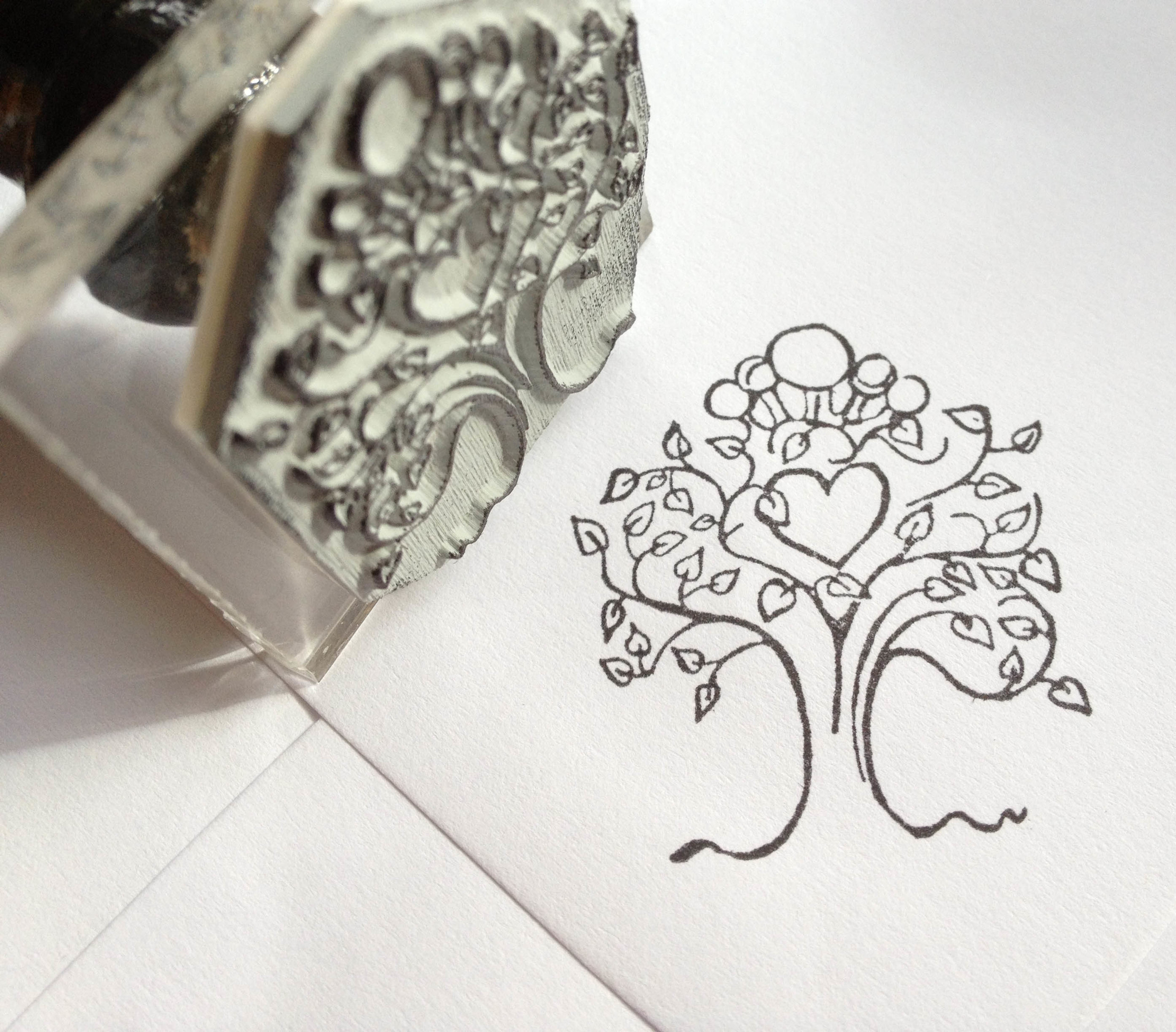 A small stamp for all those extra wedding details