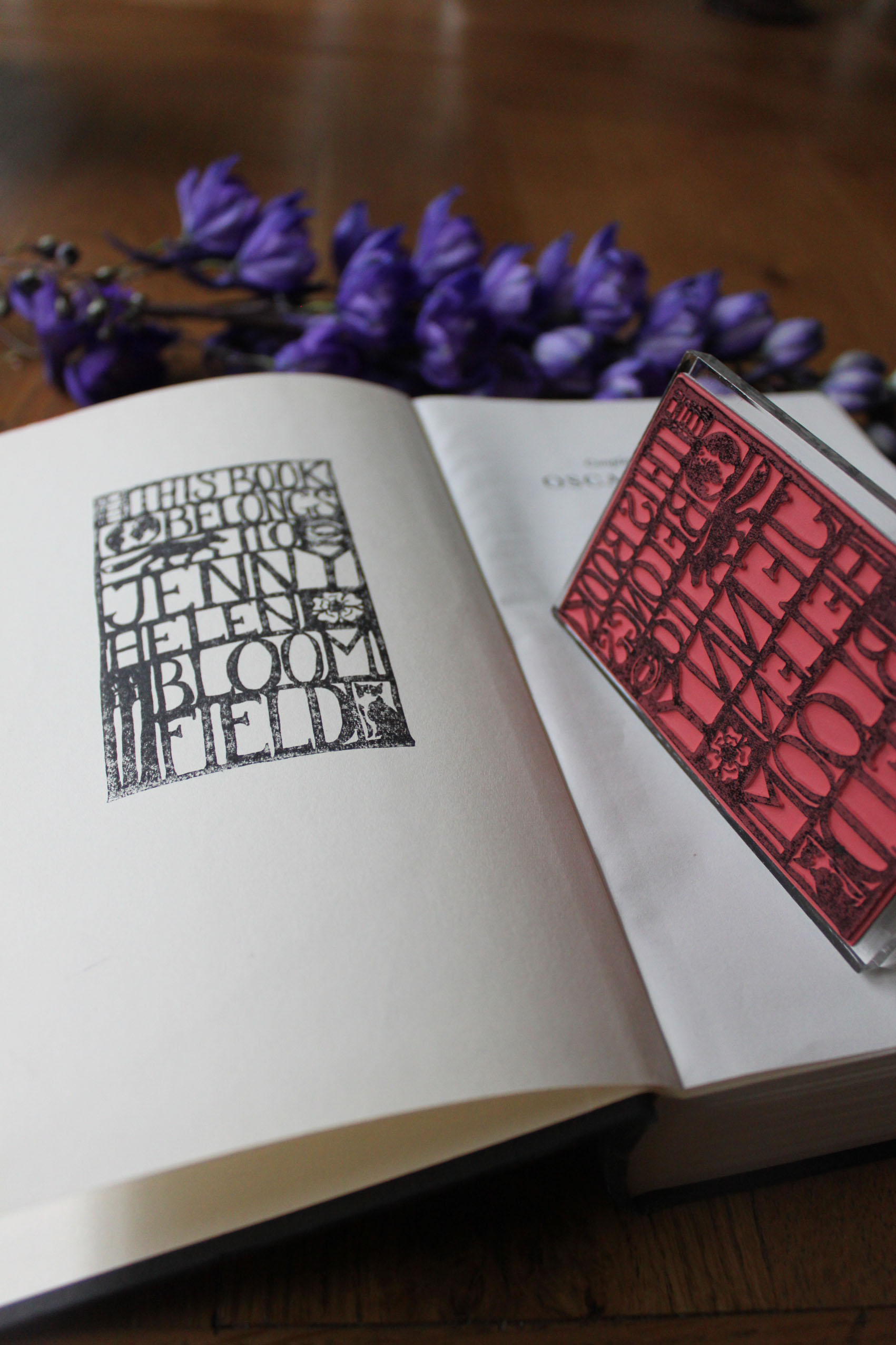 Bespoke Bookplates — Bloomfield & Rolfe