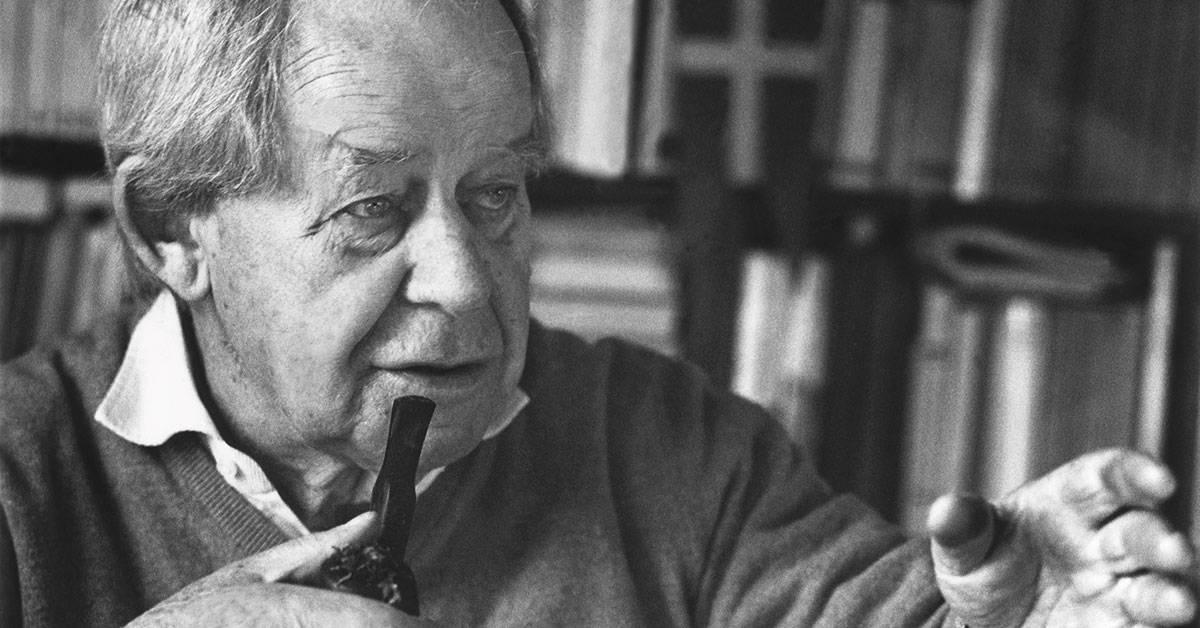 Författaren Siegfried Lenz. Foto: Ingrid von Kruse