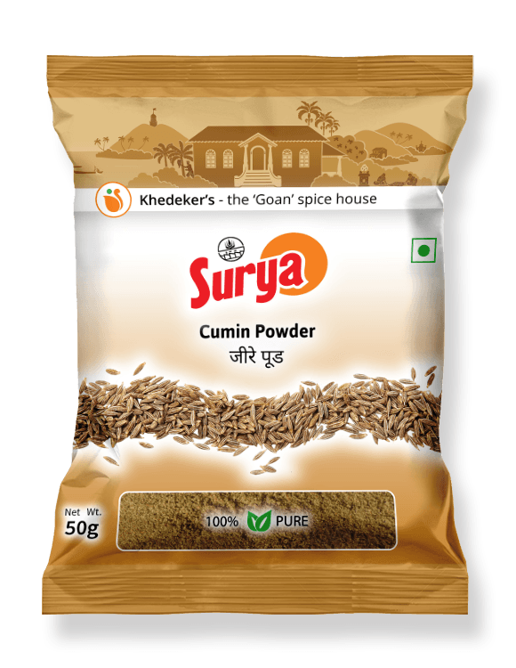 Cumin Powder Pack 50g