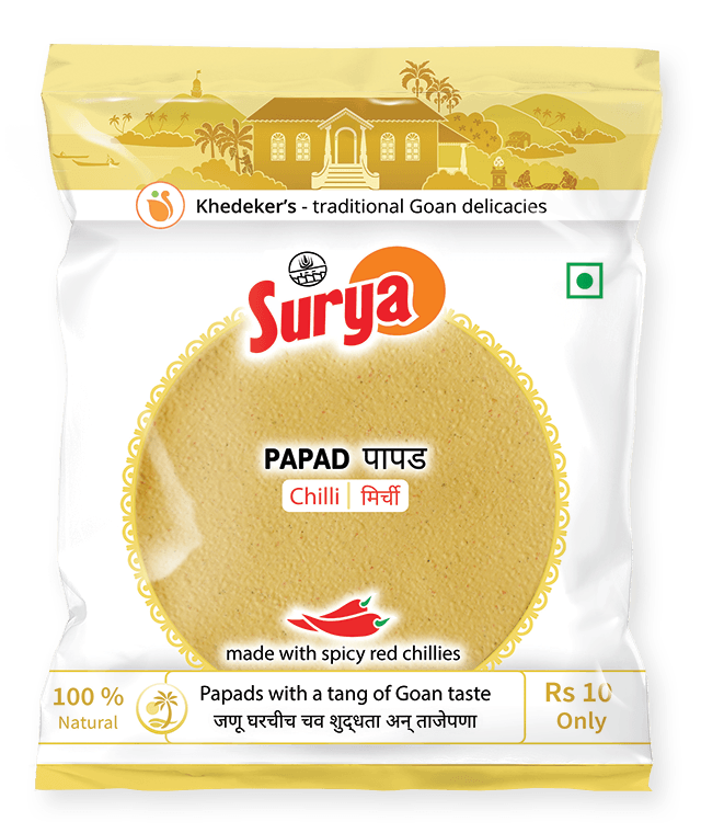 Papad - Chilli ₹10 pack