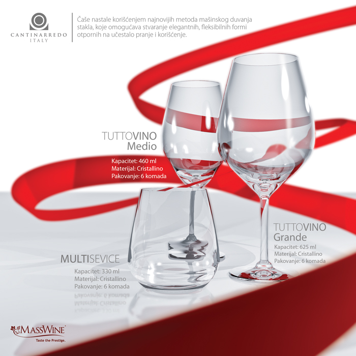 Cantinarredo Glass | Promo Flyer