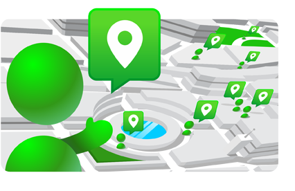 Find a friend!    Share your real- time location with various groups of friends so you can track them and they can track one another, for the time period you all choose.      Don't leave anything to chance. Track your kids on their way to school or your friends and family on their journey.