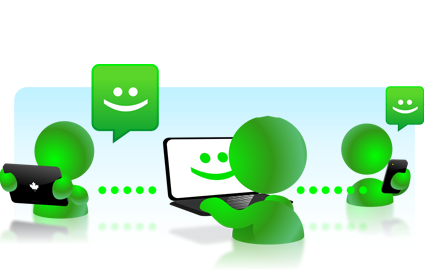 Chat and web call functionality    You can arrange details with your potential match by using free chat application or even web call. You can also chit-chat or even organize conference call with friends you share location with.