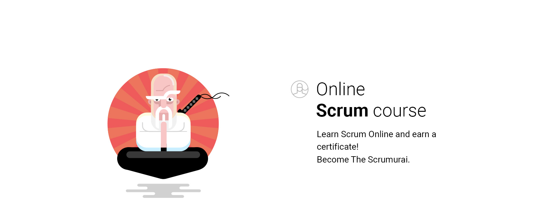 VivifyScrum EDU Illustration Scrumurai