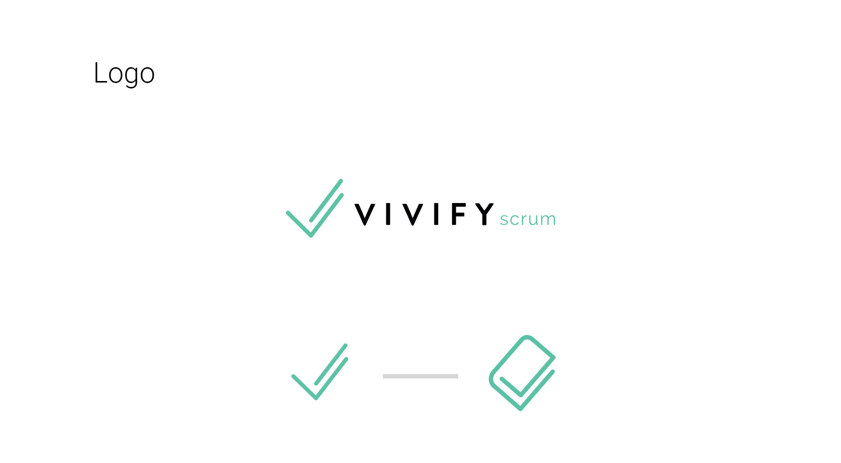 VivifyScrum EDU logo development