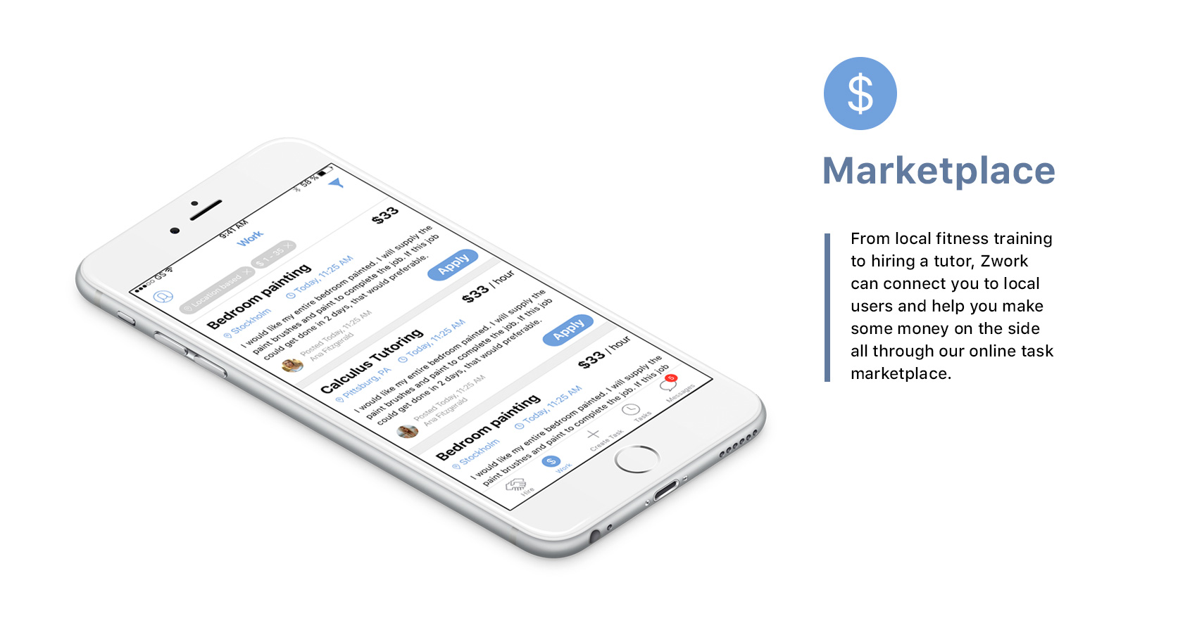 Zwork App Marketplace