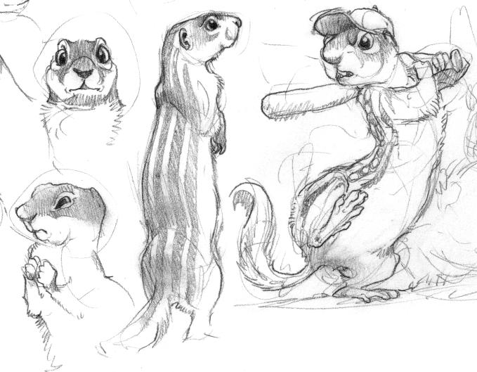 13-Lined Ground Squirrels