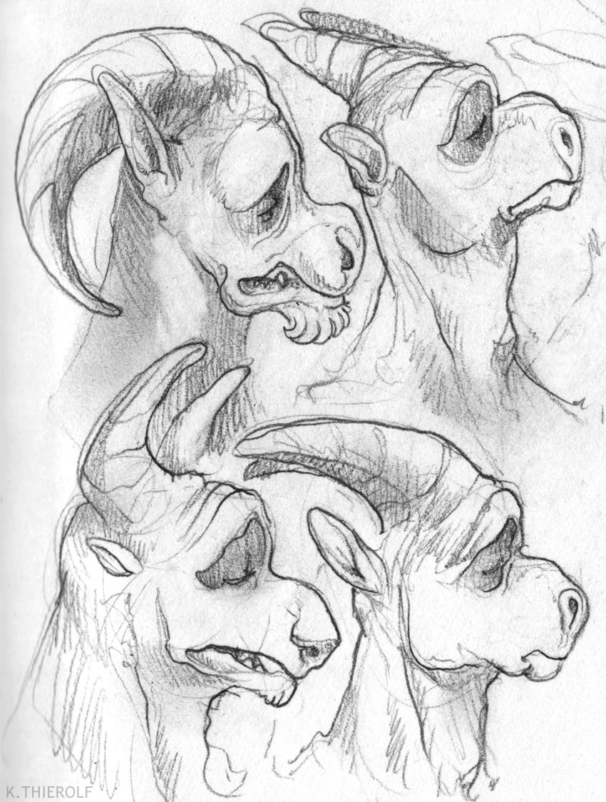 Eidolon Gargoyle Heads