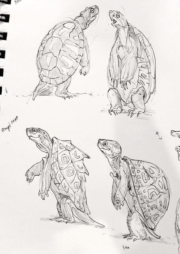 Turtles with Beanbag Arms