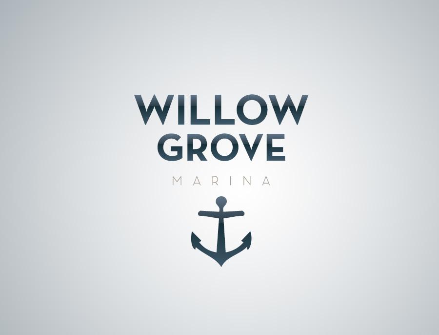 Willow Grove Marina logo