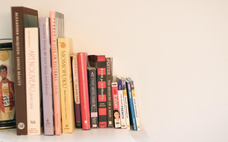 Inspiration...art nouveau, food, language and fiction!