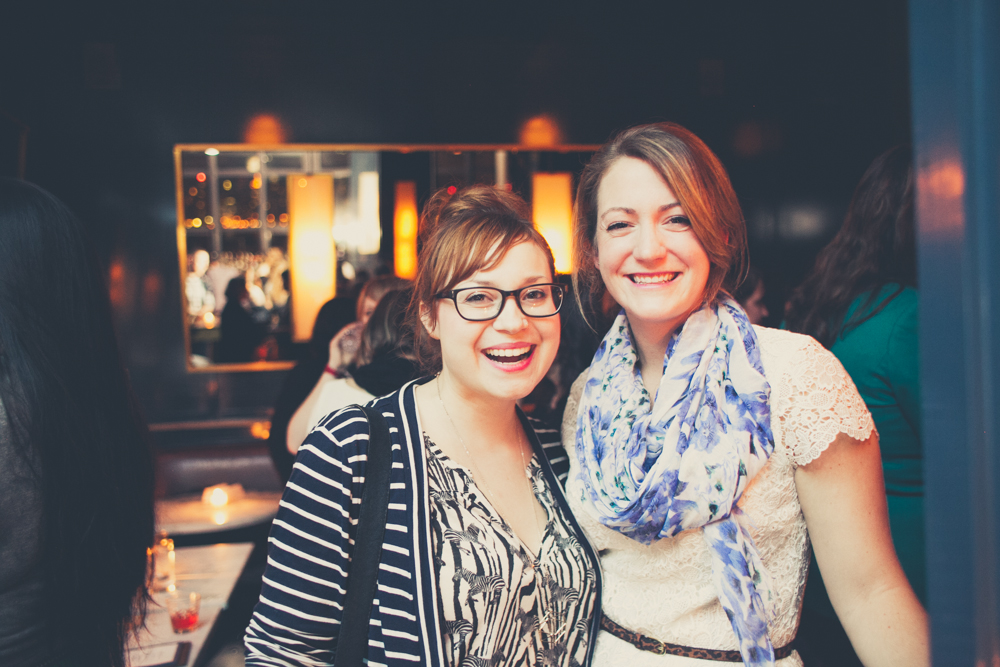 Michelle Edgemont  and Molly of  Glitter + Rye !