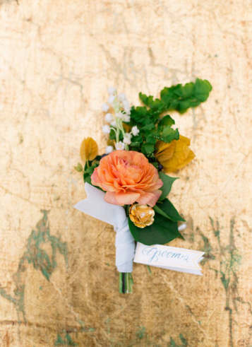 How fun is it that Haute Horticulture used my Casey bobby pin in the boutonniere?!
