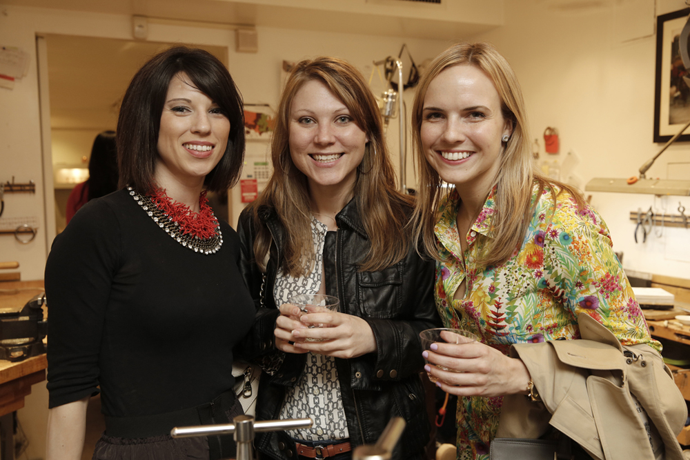 Nichole of  Coral Pheasant , Jennifer of  Cyrience Photo , Colleen of  LovelyDay .