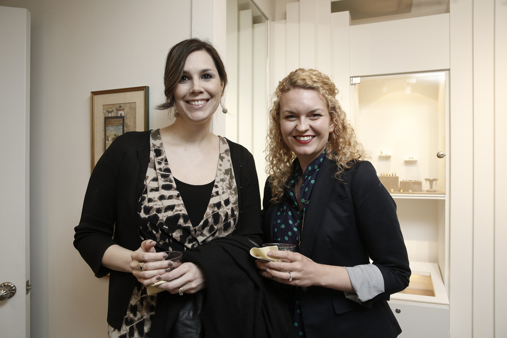 Brandi of  AlexisJuneCreative  and Rebecca of  Schone Design  catching up!