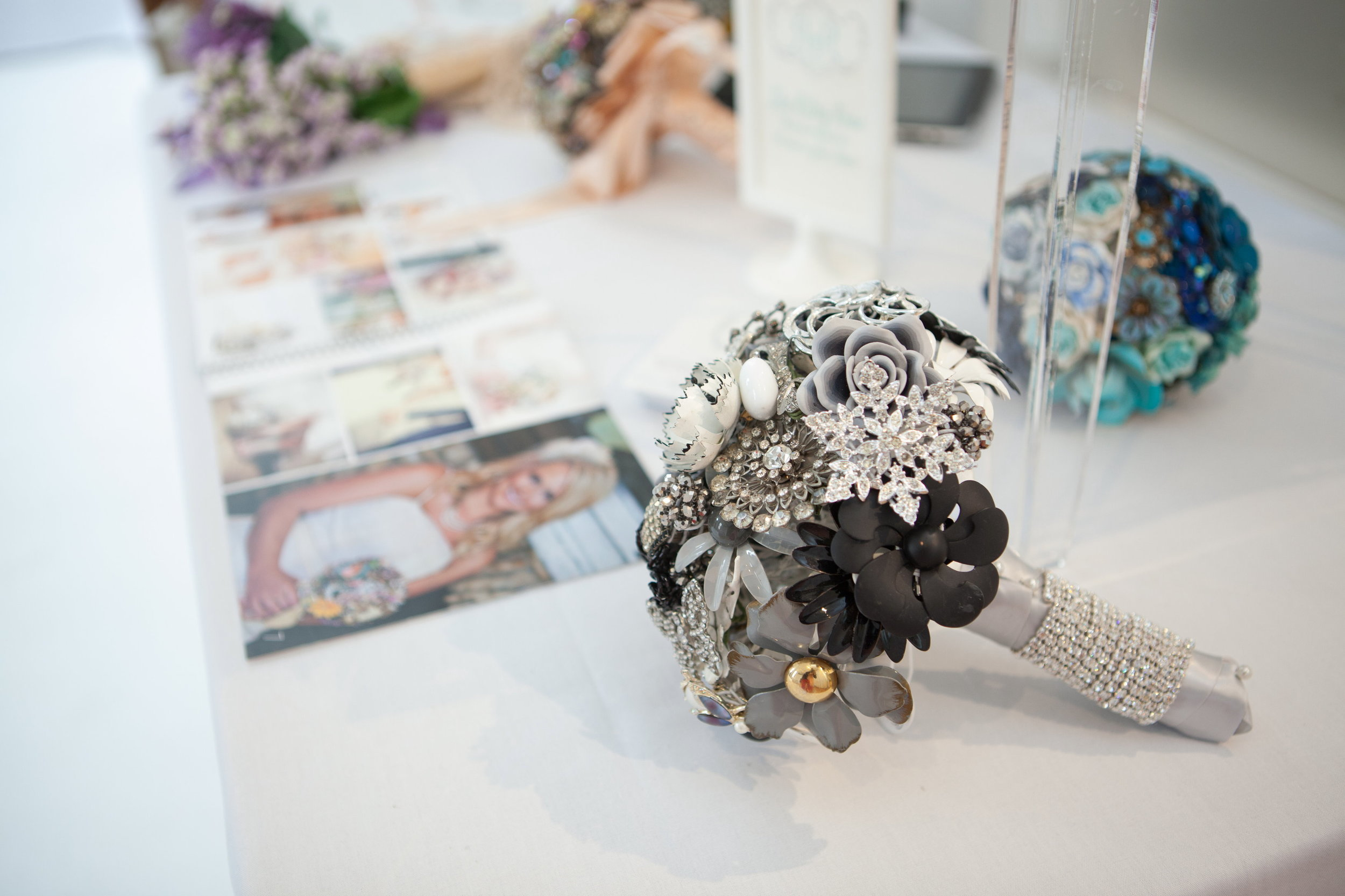 """... they make those awesome """"Brooch Bouquets""""!"""