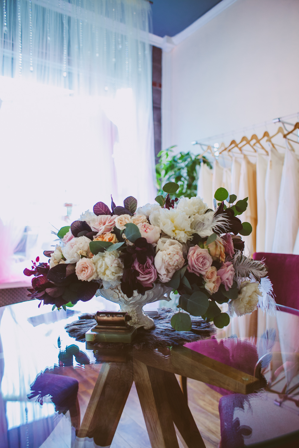 We couldn't get over how utterly stunning this bouquet from  Rebecca Shepherd  was, thank you Rebecca!!