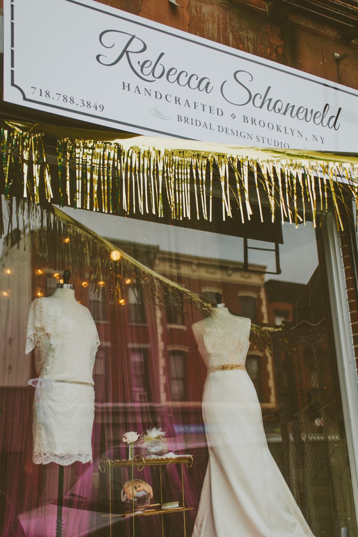 Festive store front window!