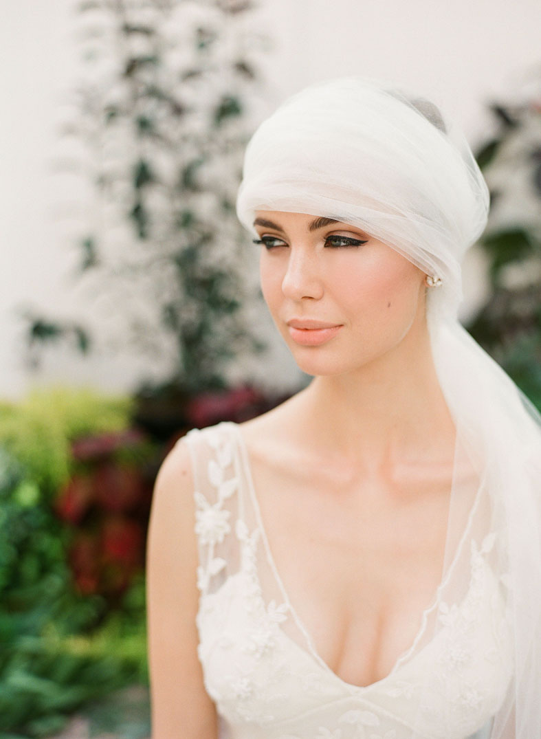 turban wedding veil scattered crystals hushed commotion 1.jpg