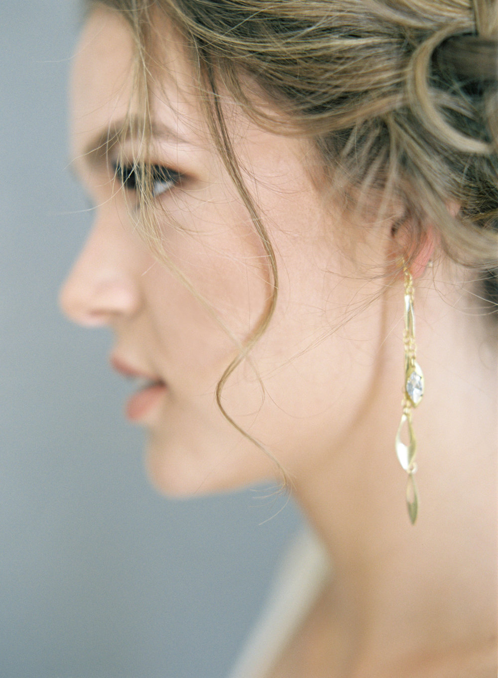 Hushed+Commotion,+Jen+Huang+2017,+Jessi+earrings,+gold+drop+with+crystal,+detail+1.jpg