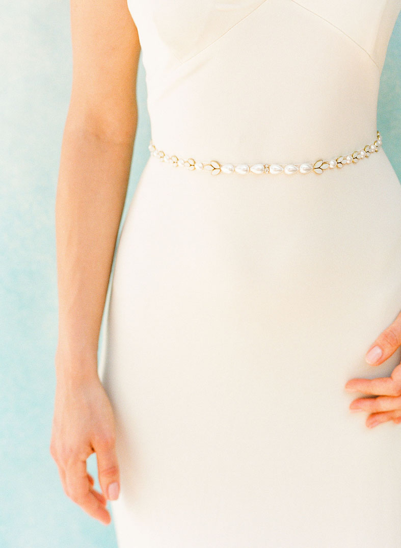 Craving Pearls? SO ARE WE!   Corey   is our go to belt for our ladies craving just that finishing touch of pearls. Made usually one a glitter gold or silver sash but also available on ivory or light ivory sashes.