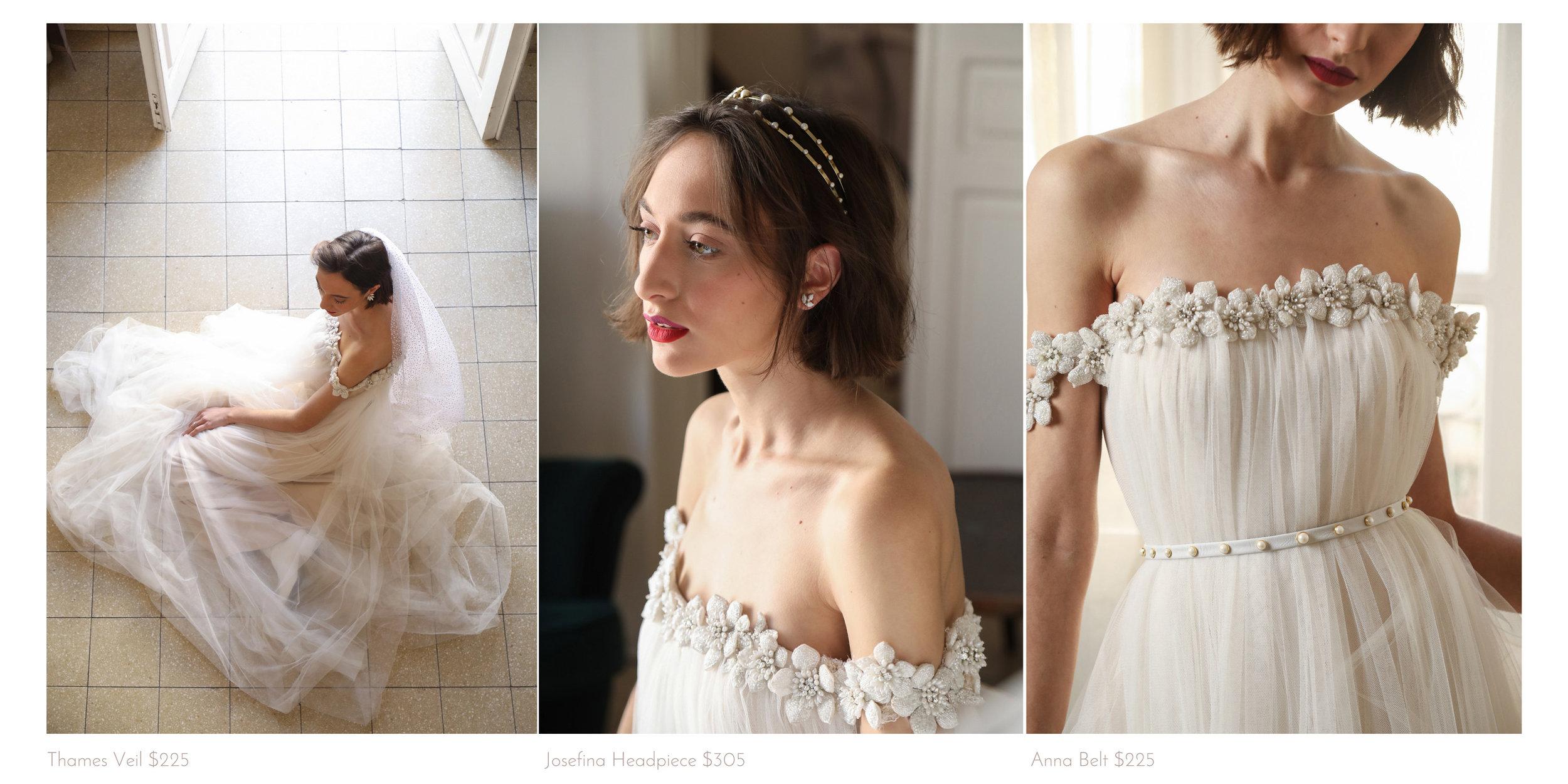 bridal accessory lookbook