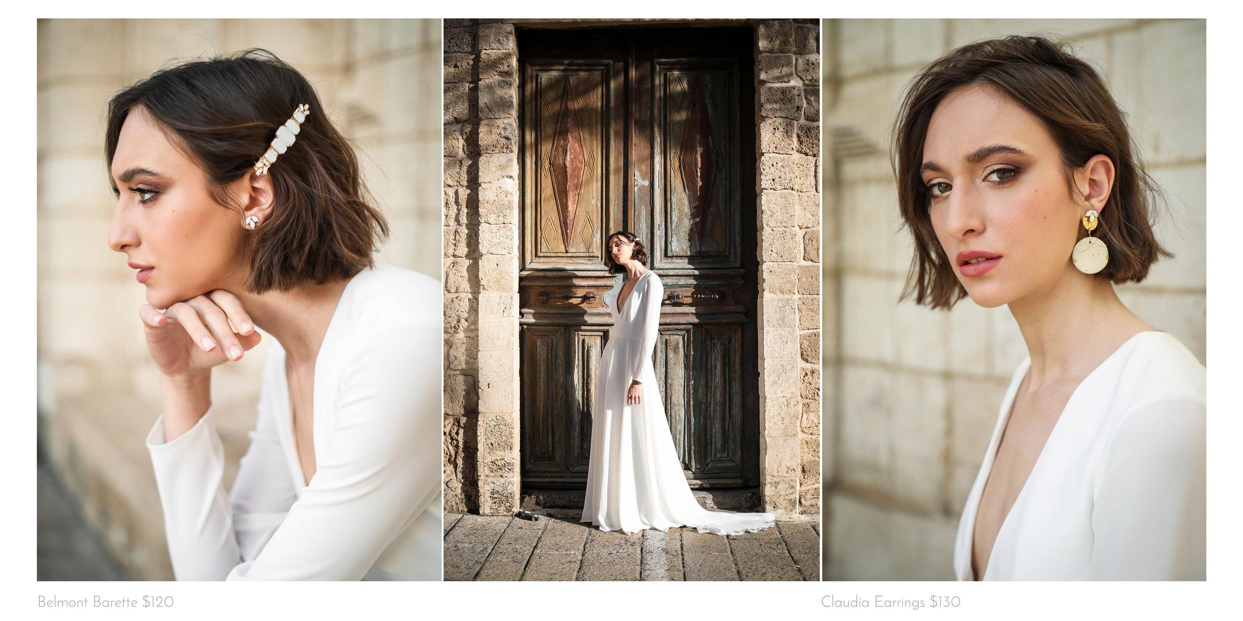 bridal barette