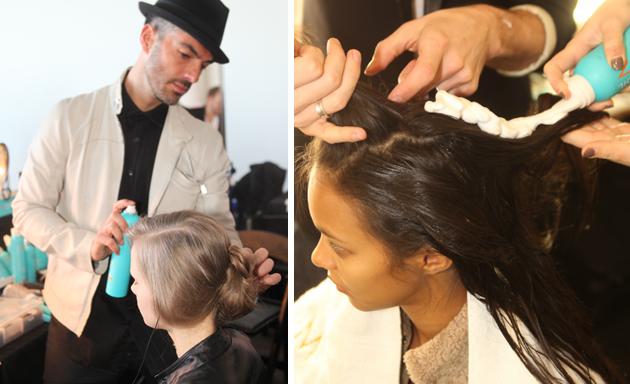 Haz click aquí  para  ver la galería de  Antonio Corral Calero , Director artistico de   Moroccanoil  , en el show de J. del Pozo (Fall/Winter 2013 Hair looks)