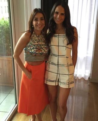 Kika Rocha and Jordana Brewster