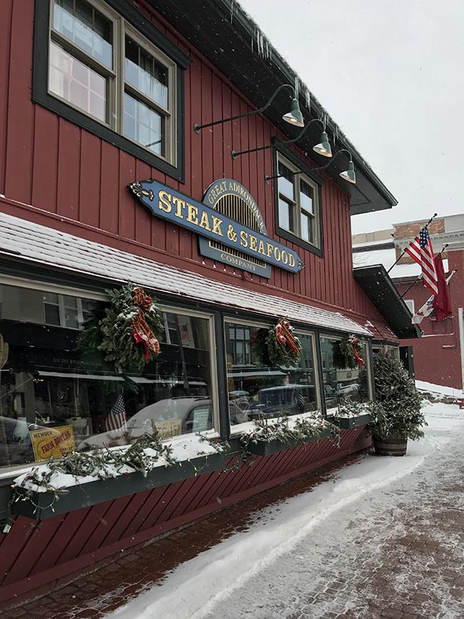 Great Adirondack Steak & Seafood Company.