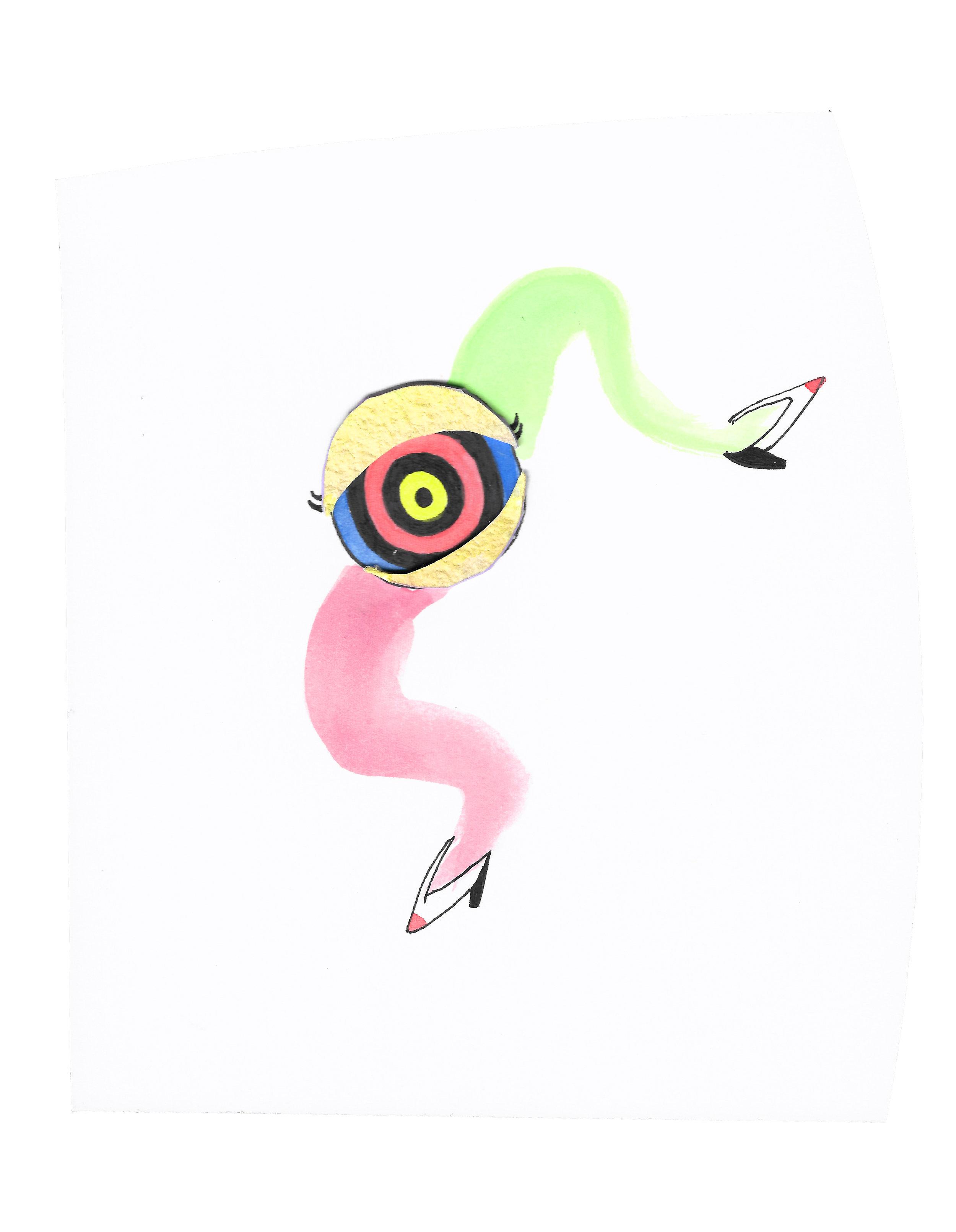 Alyssa Mannis Artist_Eloise the Dancing Eyeball