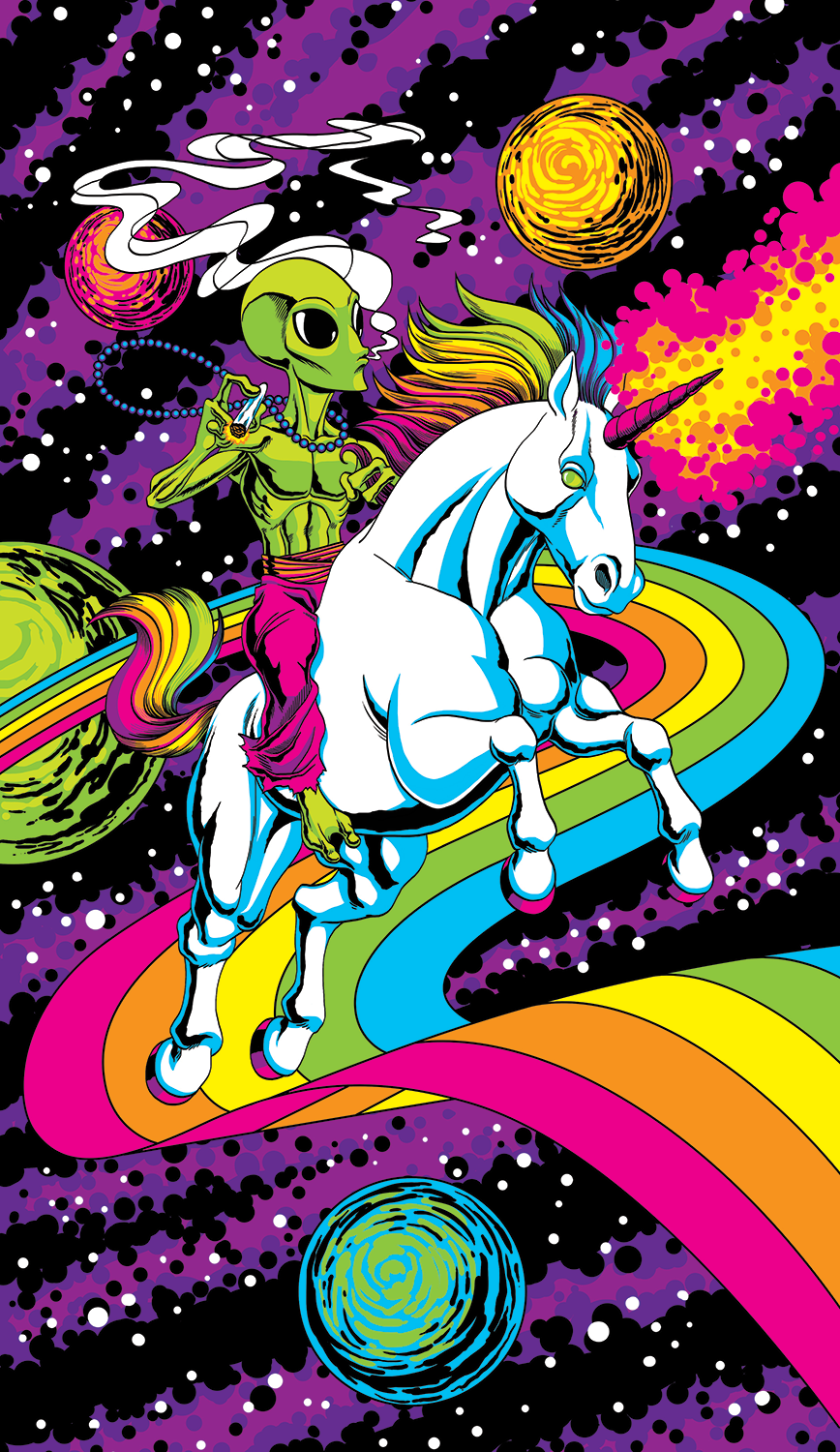 Rainbow Unicorn Rider
