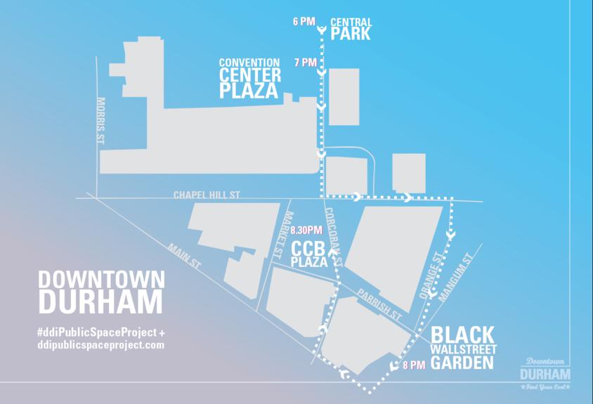 Soapbox route through downtown Durham