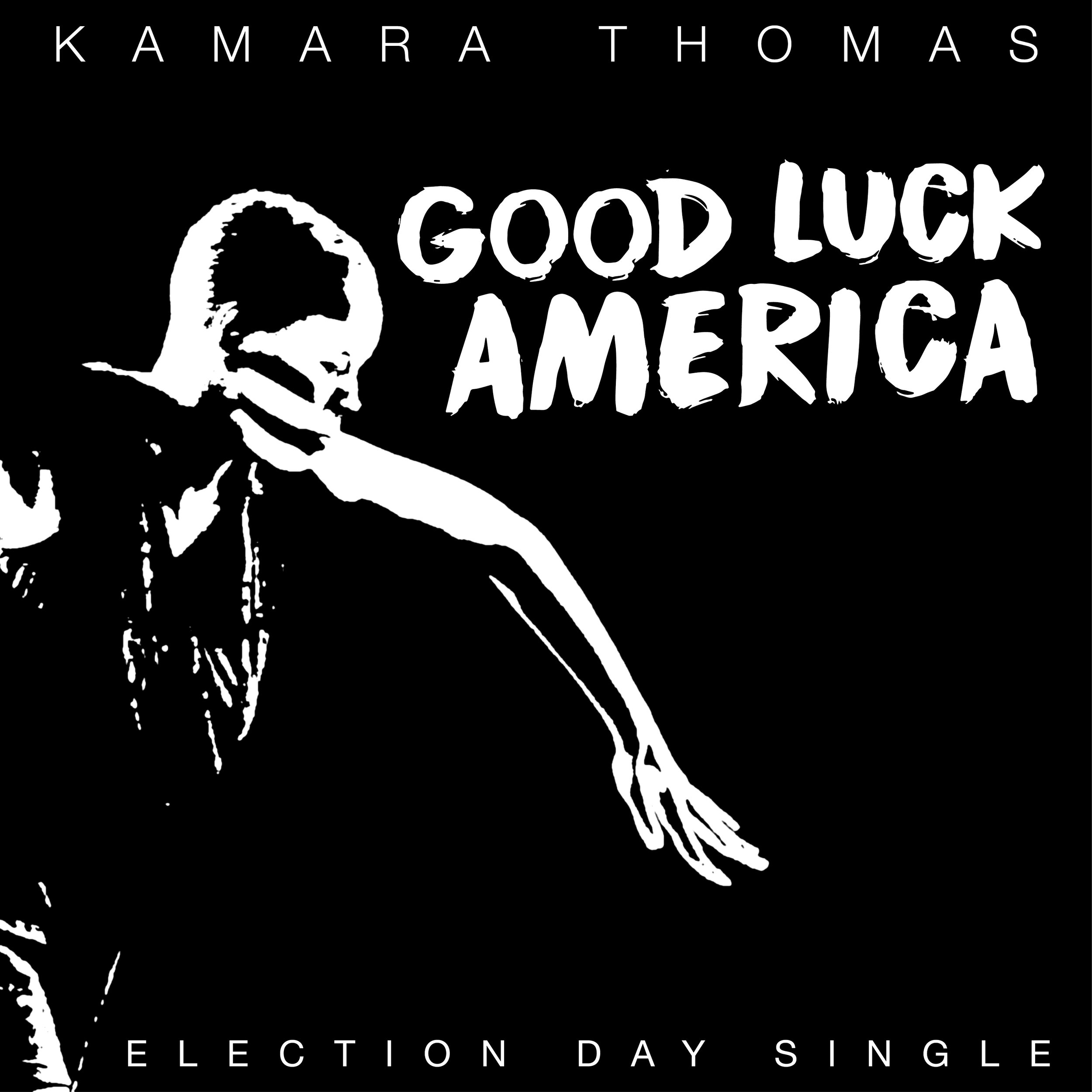 FRI 11/2 - Good Luck America single and video release day!!