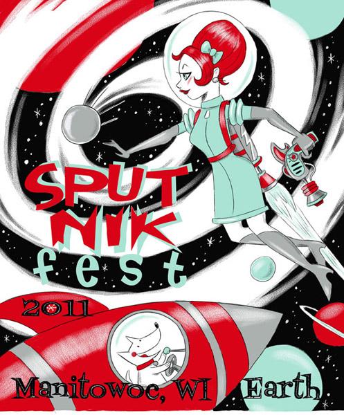 Sputnikfest 2011 Poster