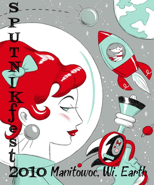 Sputnikfest 2010 Poster