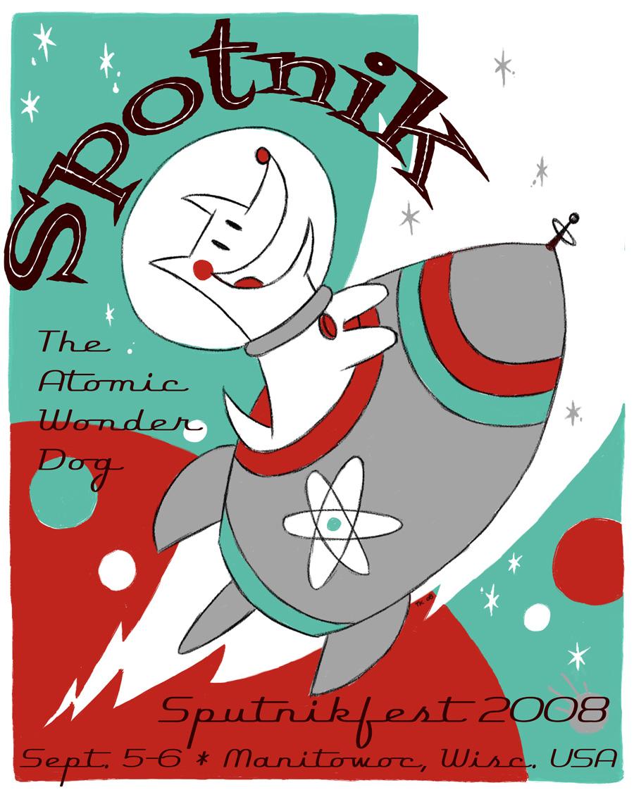 Sputnikfest 2008 Poster