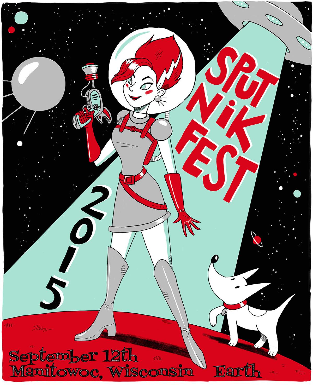 Sputnikfest 2015 Poster