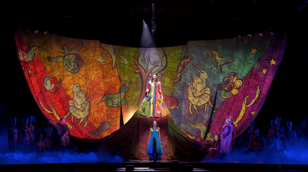 Joseph and the Amazing Technicolor Dreamcoat National Tour starring Diana DeGarmo and Ace Young   Photo by Daniel Brodie