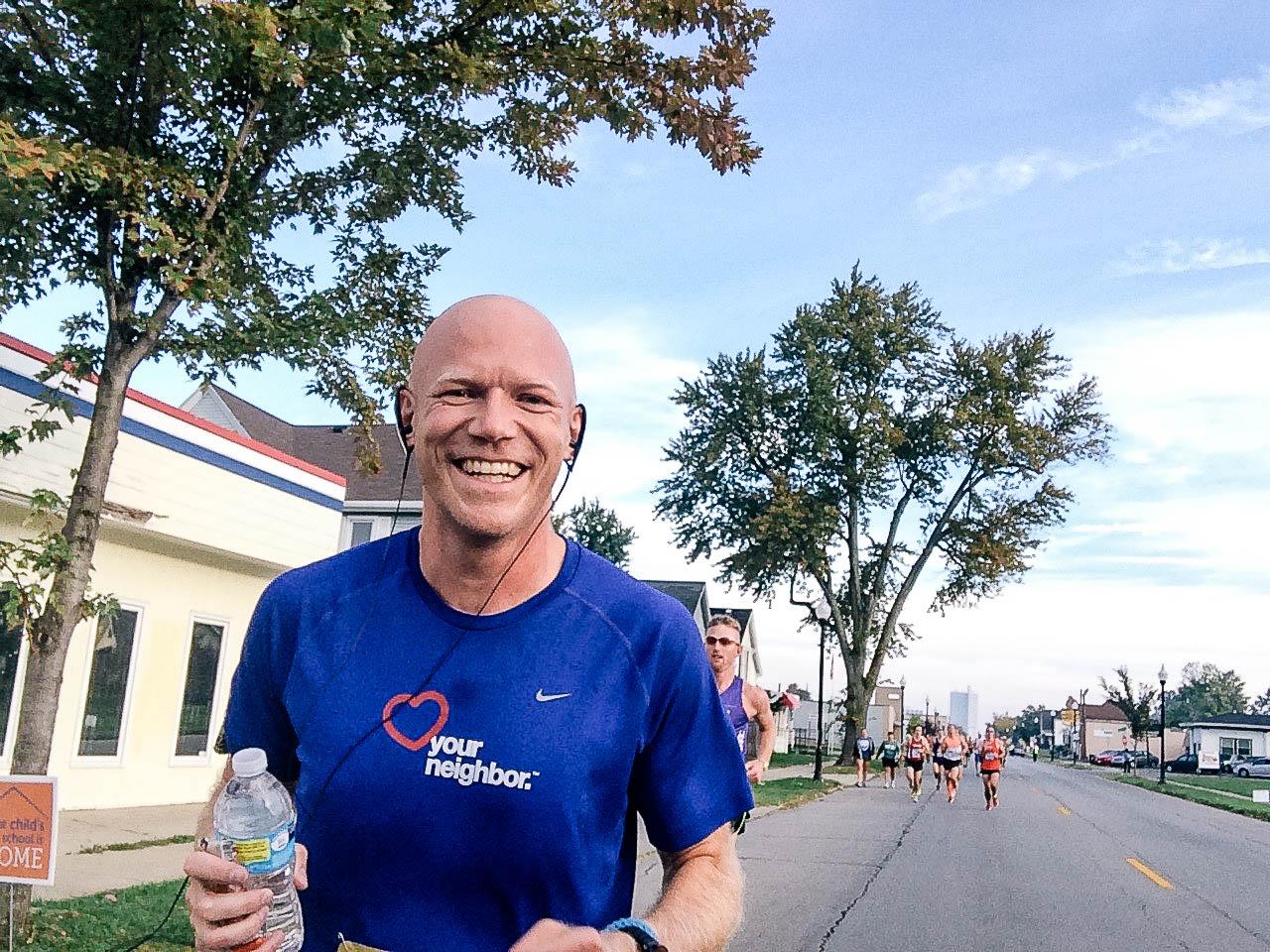 Matt is big supporter of Team NeighborLink and an avid runner.