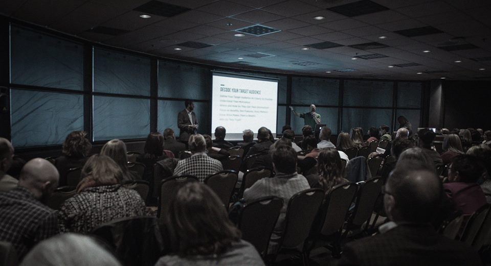 Matt and I co-presented a breakout session this fall on Strategic Communication and the Power of Storytelling